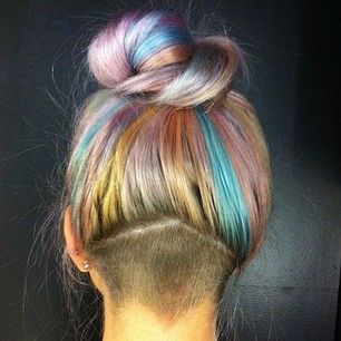 Undercut rainbow