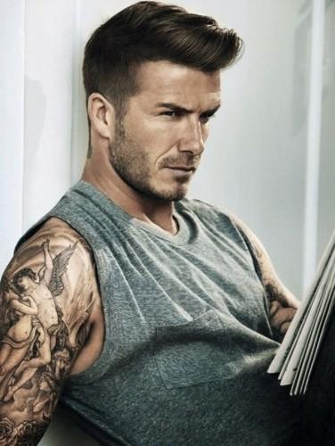 David Beckham fade