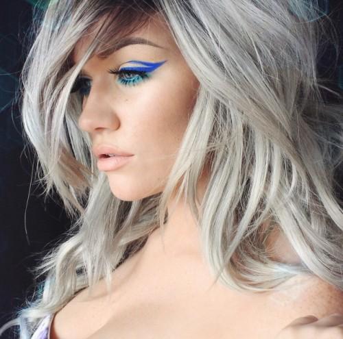 Samantha Ravndahl Silver Hair @ssssamanthaa