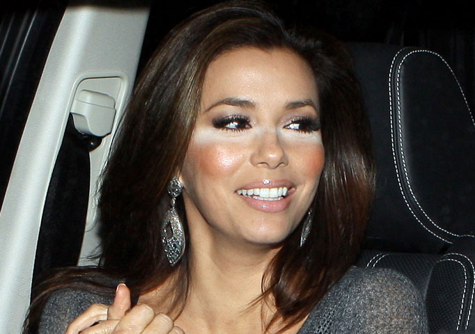 Eva Longoria bad makeup