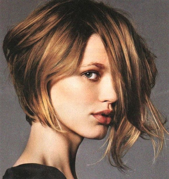 JCI Hair Blog - Anything Goes Asymmetrical Brunette