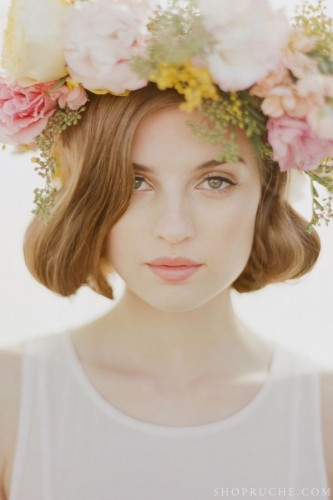 Big bold flower crown