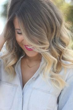 long beachy balayage hair