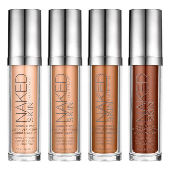 Summer 2015 Naked Foundation