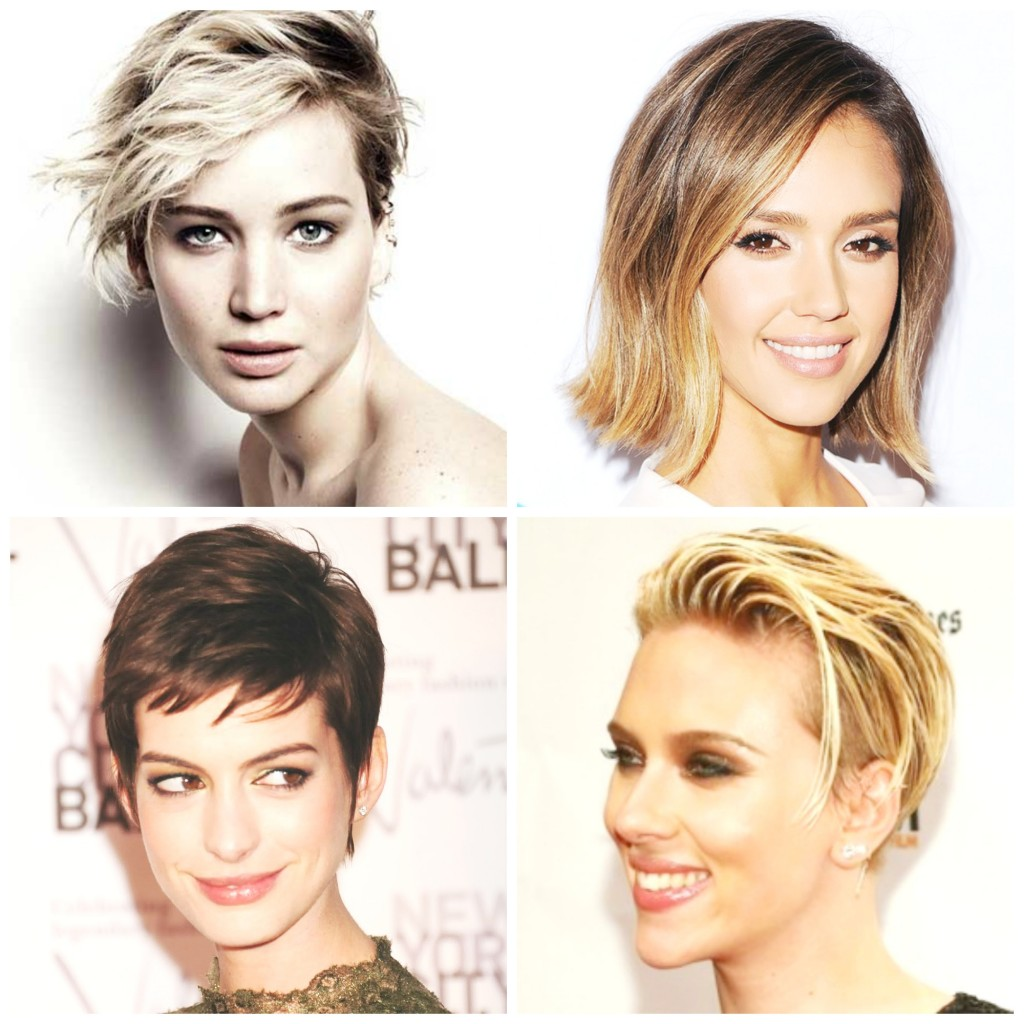 Celebrities with Short Hair