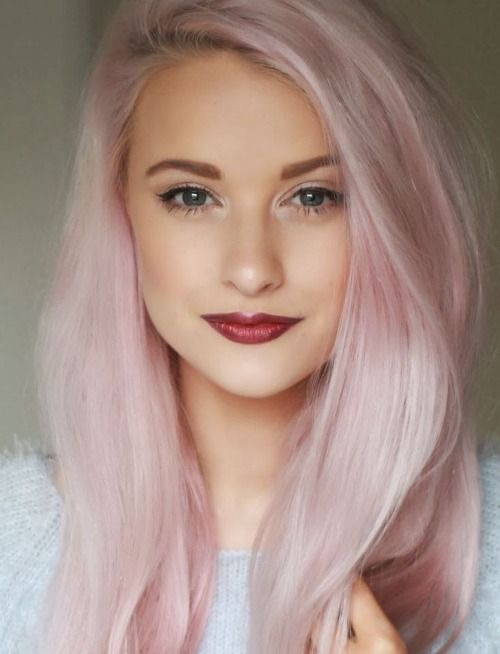 Pink Hair Colour - Rinse
