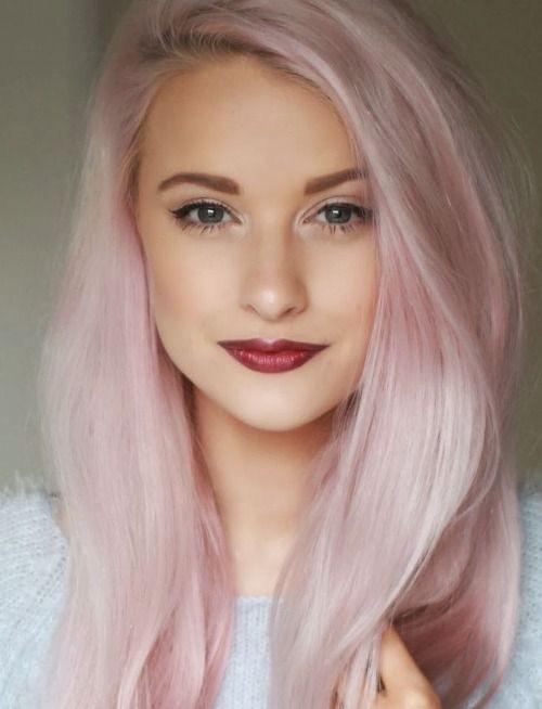 Pink Hair Colour - Rinse