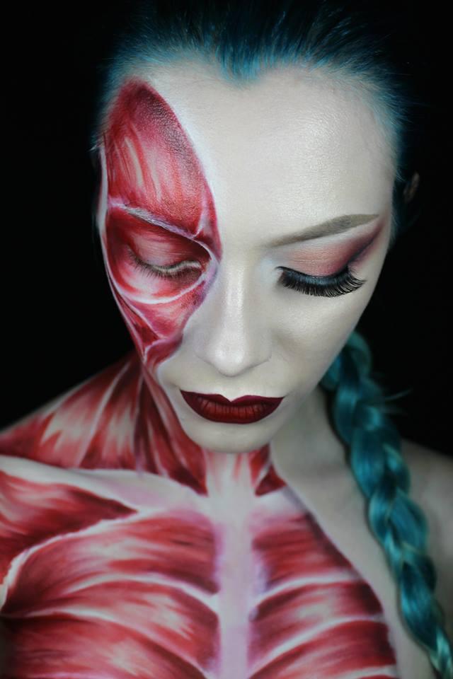 Leigh Dickson Makeup Artist airbrush