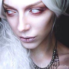 Leigh Dickson Makeup Artist Ghost Makeup