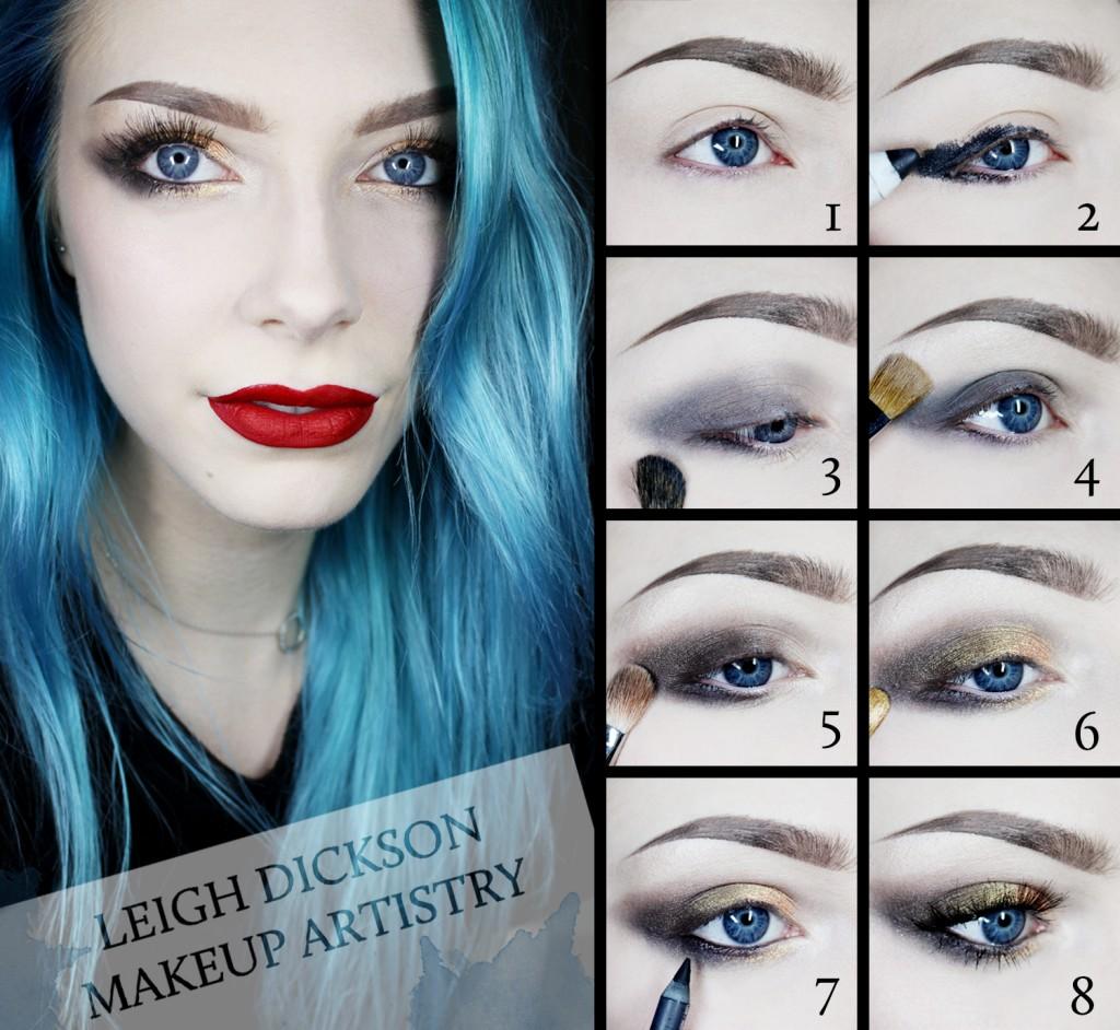 Leigh Dickson Makeup Tutorial Smoky Eye