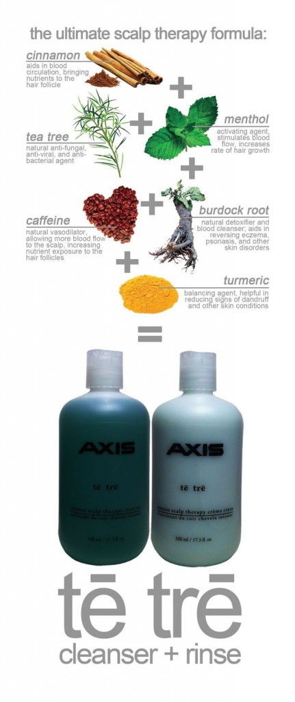 Te Tre Axis Hair Products