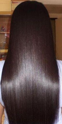 Healthy Hair Brunette