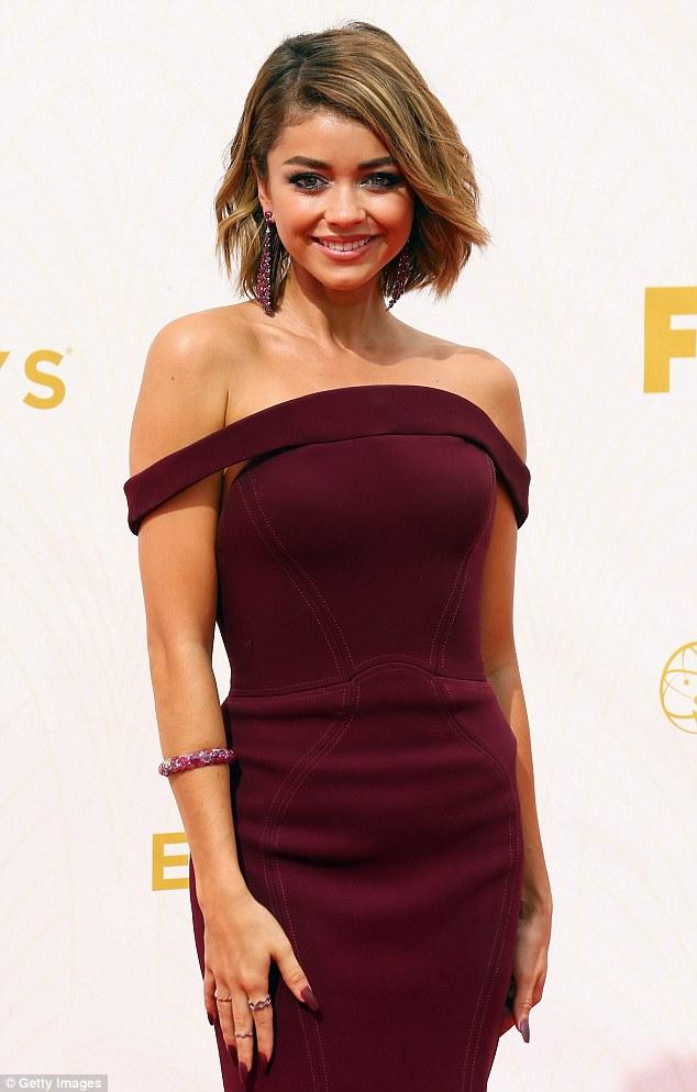 Sarah Hyland Emmy Awards Celebrity Hair