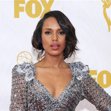 Celebrity Hair at the Emmy Awards Kerry Washington