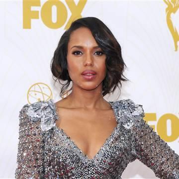Celebrity Hair at the Emmy Awards Kerry Washington