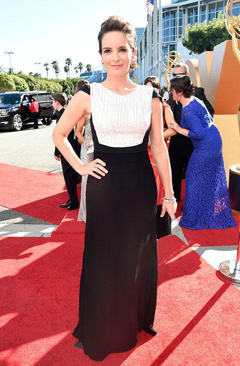 Tina Fey Emmy Awards Celebrity Hair