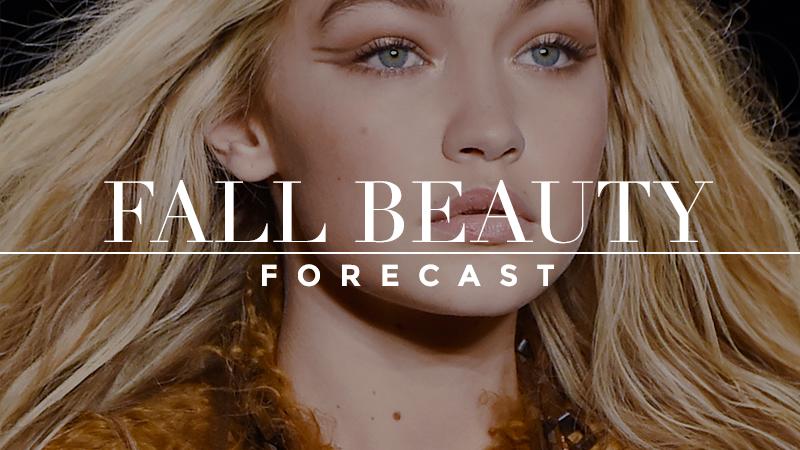 Fall 2015 Beauty Forecast