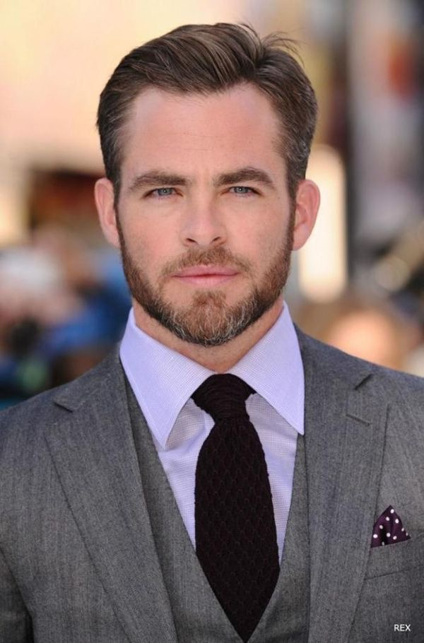 Chris Pine Beard