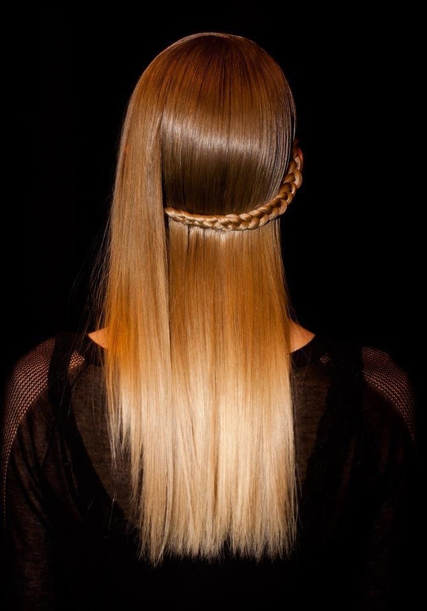 Fall 2015 Hair Trends Beige Tones