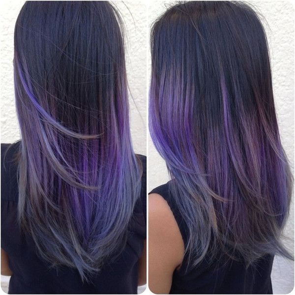 Fall 2015 Hair Trends Deep Purple