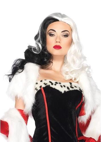 Halloween Hair Cruella Deville