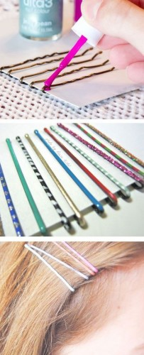 Jazzed Up Bobby Pins