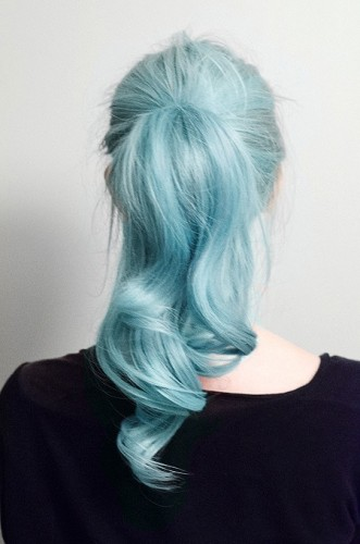 Serenity Hair Colour Ponytail