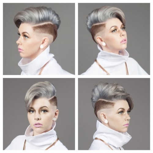 JCI Hair Blog Short Silver Hairstyles Bob Lob Pixie Cut