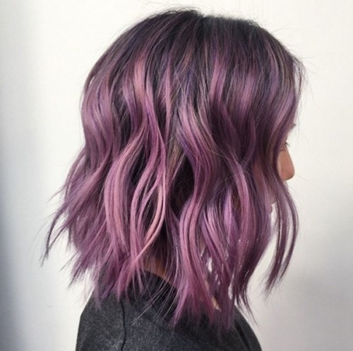 JCI Hair Blog Purple Balayage
