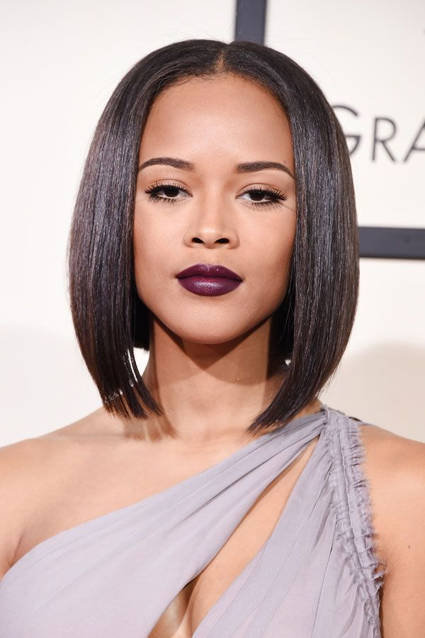 Serayah Grammys 2016 Makeup Hair