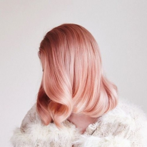 Spring Hair Pink Pastel Colour