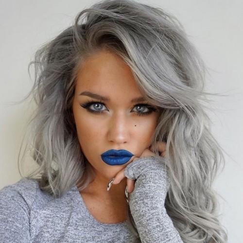 Samantha Ravndahl silver hair