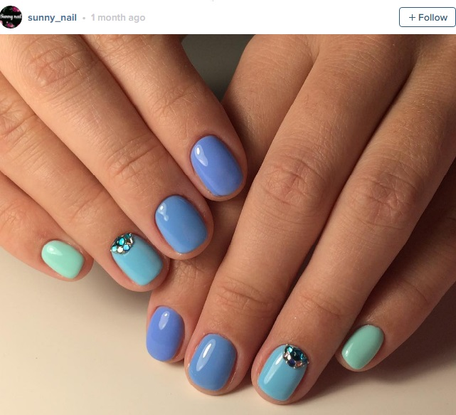 Happy mani monday nail art ideas for short nails prinsesfo Images