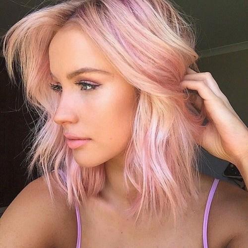 JCI Hair Blog Best Spring Hair Trends Pink Pastel Colour