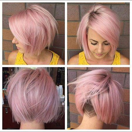 JCI Hair Blog Pink Pixie Cut