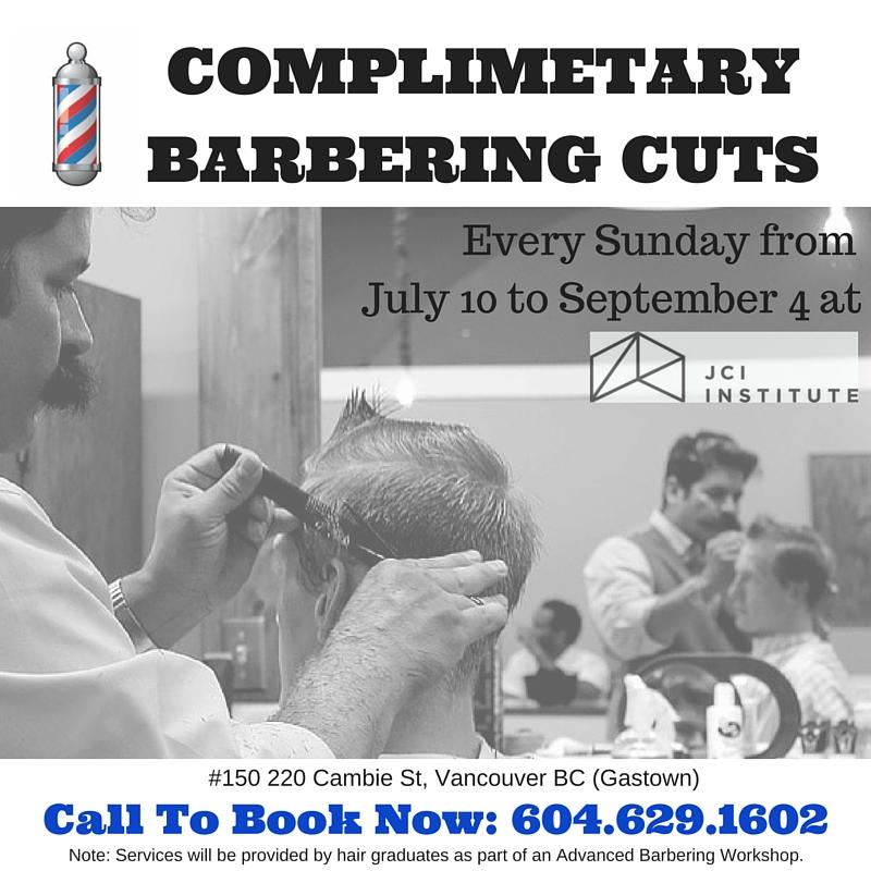 gastown free haircuts