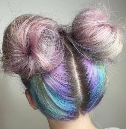 JCI Hair Blog Summer Hair Trends Space Buns