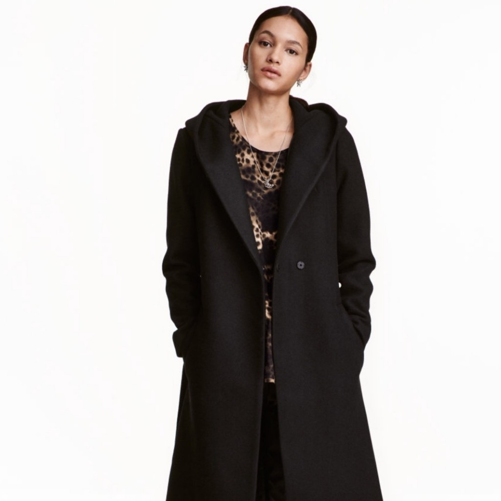 belted jacket h&m best winter coats