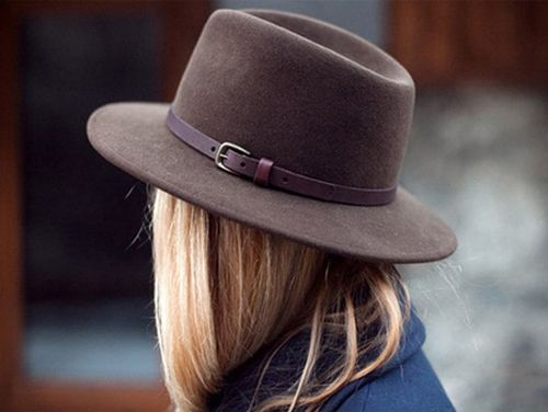 wool fedora fall