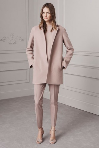 light pink monotone outfit