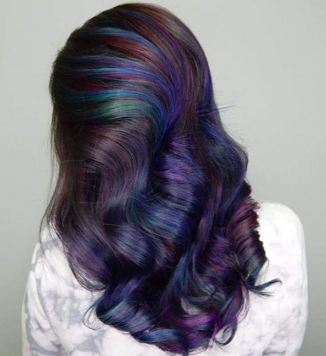 vivid hair colour