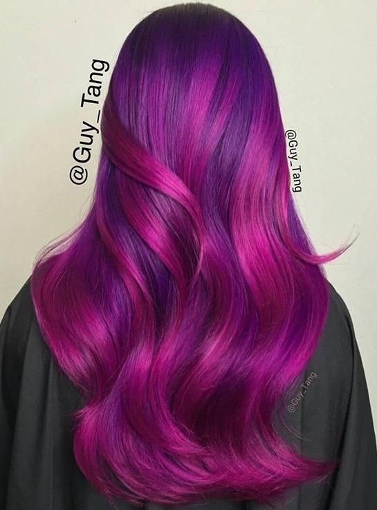 vivid hair purple