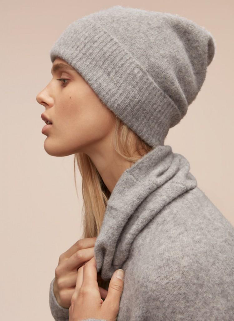 soft wool toque