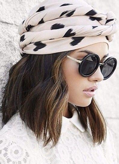 hair turban cute