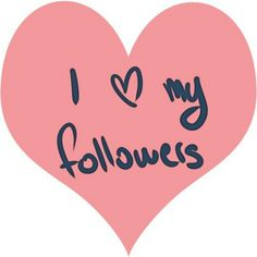 i heart my followers