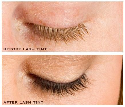 lash-tint-before-after