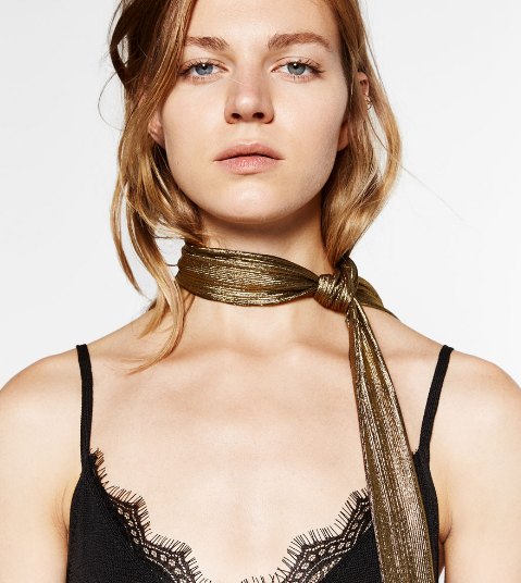 metallic-scarf