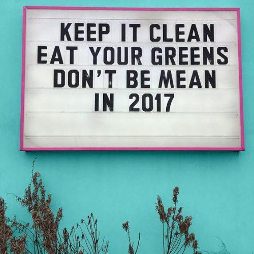 keep it clean 2017