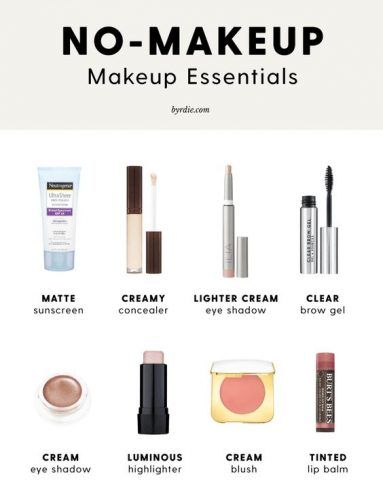 Makeup Essentials Must Haves From Makeup Artists Part 1: Minimal Summer Makeup Essentials