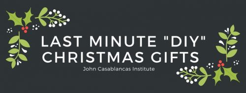 Last minute diy christmas gifts john casablancas institute if youre someone who leaves things until the last minute then weve got you covered with this list of last minute do it yourself christmas gift ideas solutioingenieria Images